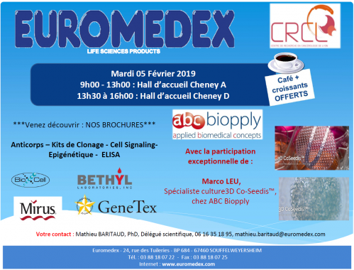 Euromedex abcbiopply event news
